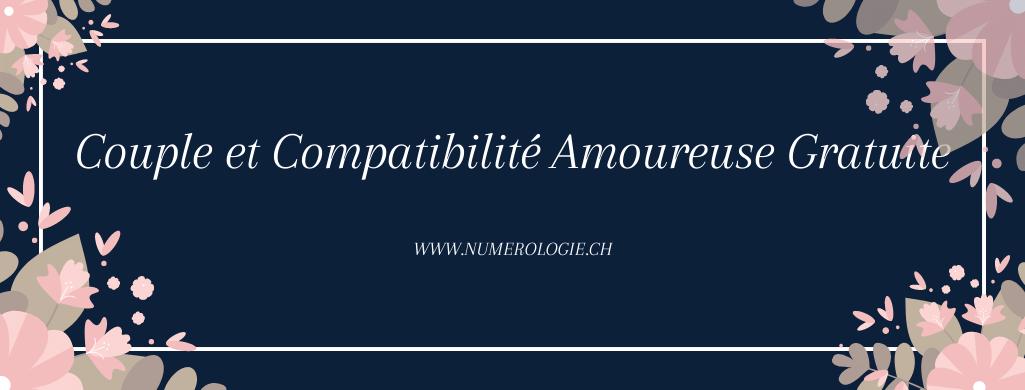 Couple et Compatibilité Amoureuse Gratuite