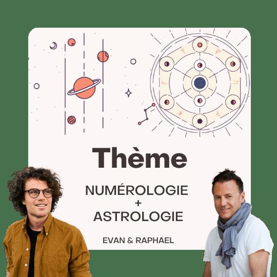 thème astrologie numerologie